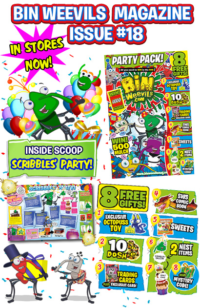 Binweevils Mag Issue 18 Out Now!!!
