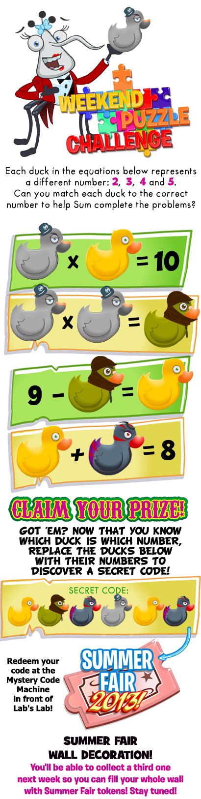 Weekend Puzzle Challenge Puzzle 2
